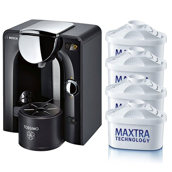 Pack 4 filtros cafetera Tassimo Bosch tipo Maxtra[FFABRITMAXT]