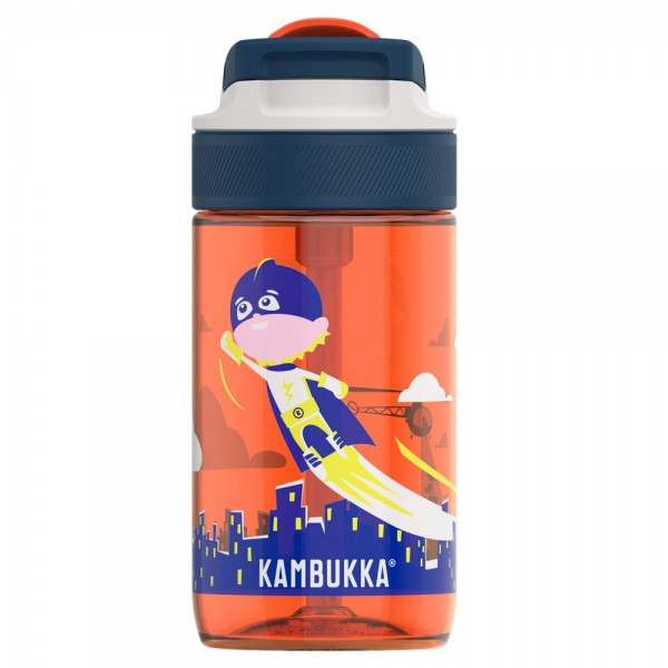 Botella infantil Lagoon Kambukka Flying Superboy