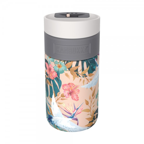 Mug Acero Inoxidable Etna Paradise Flower Kambukka 300 Ml