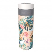 Mug Acero Inoxidable Etna Paradise Flower Kambukka 500 Ml